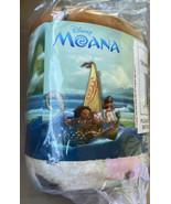 "Disney Moana Pua Hei Hei Maui ""THE WAVE"" Plush Throw Soft Blanket 60"" X ... - $32.99"