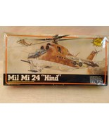 "MPC Mil Mi 24 ""Hind"" Heavy Soviet Assault Gunship Helicopter Model Kit  NIB - $19.99"