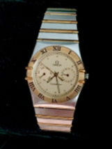 Omega Constellation Chronograph 18KT & Stainless Men's Watch - $2,475.00