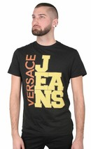 Versace Jeans Big Logo Cube Men's Graphic Tee NWT image 2