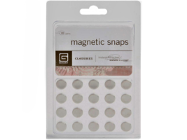 BasicGray Magnetic Snaps, Set of 10 Pairs