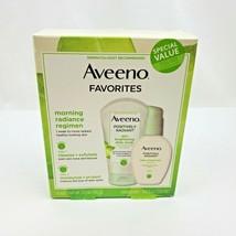 Aveeno Set Positively Radiant Daily Scrub & Daily Moisturizer EXP 09/2021 - $13.95