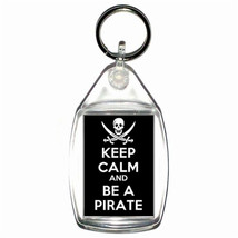 keep calm be a pirate skull and crossbones  handmade in uk from uk made parts ke