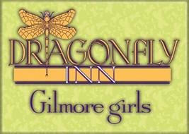 Lukes Gilmore Girls TV Series Dragonfly Inn Logo Refrigerator Magnet NEW... - $3.99