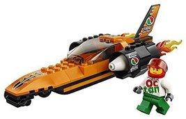 LEGO City Great Vehicles Speed Record Car 60178 Building Kit (78 Piece) - $10.99