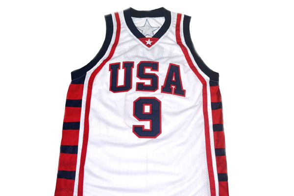 Lebron James #9 Team USA New Men Basketball Jersey White Any Size