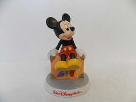 2011 Walt Disney World Mickey Ready to Go Ceramic Figurine - $20.00