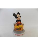 2011 Walt Disney World Mickey Ready to Go Ceramic Figurine - $20.00