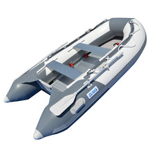 BRIS 10.8 ft Inflatable Boat Inflatable Rafting Fishing Dinghy Tender Pontoon image 2