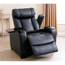 Power Recliner Leather Furniture Home Lift Theater Chair Assist Renu Laz... - $693.00