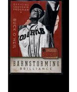 2013 America's Pastime Barnstorming Brilliance Gold #6 Buck O'Neil /25 -... - $11.88