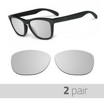 2 Pair Optico Replacement Polarized Lenses for Oakley Frogskin Sunglasse...  -  15.99 3e1da09325