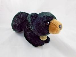 "Miyoni by Aurora Black Bear Plush 12"" Stuffed Animal toy - $5.95"