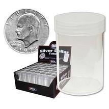 1 Box of (98) BCW COIN TUBES - DOLLAR - $32.16