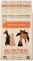 Dog Treat Dog, Peanut Banana Bread Training Grain Free Natural Dog Treat... - $18.99
