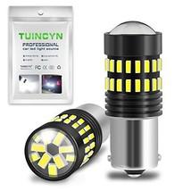 TUINCYN 1156 LED Bulbs White Brake Light BA15S 1141 1095 7506 1156A P21W 4014-48