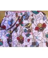 Nick & Nora PJ Bottoms Small  Cotton Sleep Pajama Pants Pink floral Flan... - $17.34