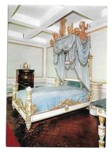Italy Isola D'Elba Villa of Napoleon The Emperors Bed F Pagano Postcard 4X6 - $6.69