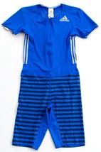 Adidas AdiZero ClimaLite Blue Short Sleeve PU Suit Track Sprint Suit Men... - $164.99