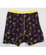 Duluth Trading Co Mens Buck Naked Performance Boxer Neon Lights Print 76714 - $29.36