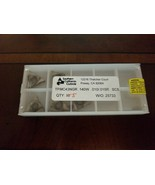 SOUTHERN CALIFORNIA CARBIDE INSERTS TPMC43NGR.140W.015R SC5 Qty 5 - $23.76