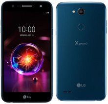 LG X Power 3 | LM-X510WM - 4G LTE (GSM UNLOCKED) 16GB Smartphone - Blue