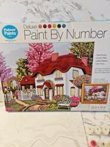 Palmer Paints Paint By Number Kit 20 X 16 Dream Cottage  Acrylic Paint - $29.69