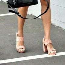 Vince Camuto Jayvid Platform Block Heel Sandals, Multiple Sizes Black VC-JAYVID image 10