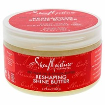 Shea Moisture Red Palm Oil & Cocoa Butter Shine Butter, 3.75 Pound