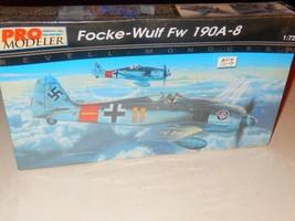 VINTAGE PRO-MODELER 5943 FPCKE-WULF FW 190A-8 1/72ND SCALE MODEL KIT-- N... - $9.75