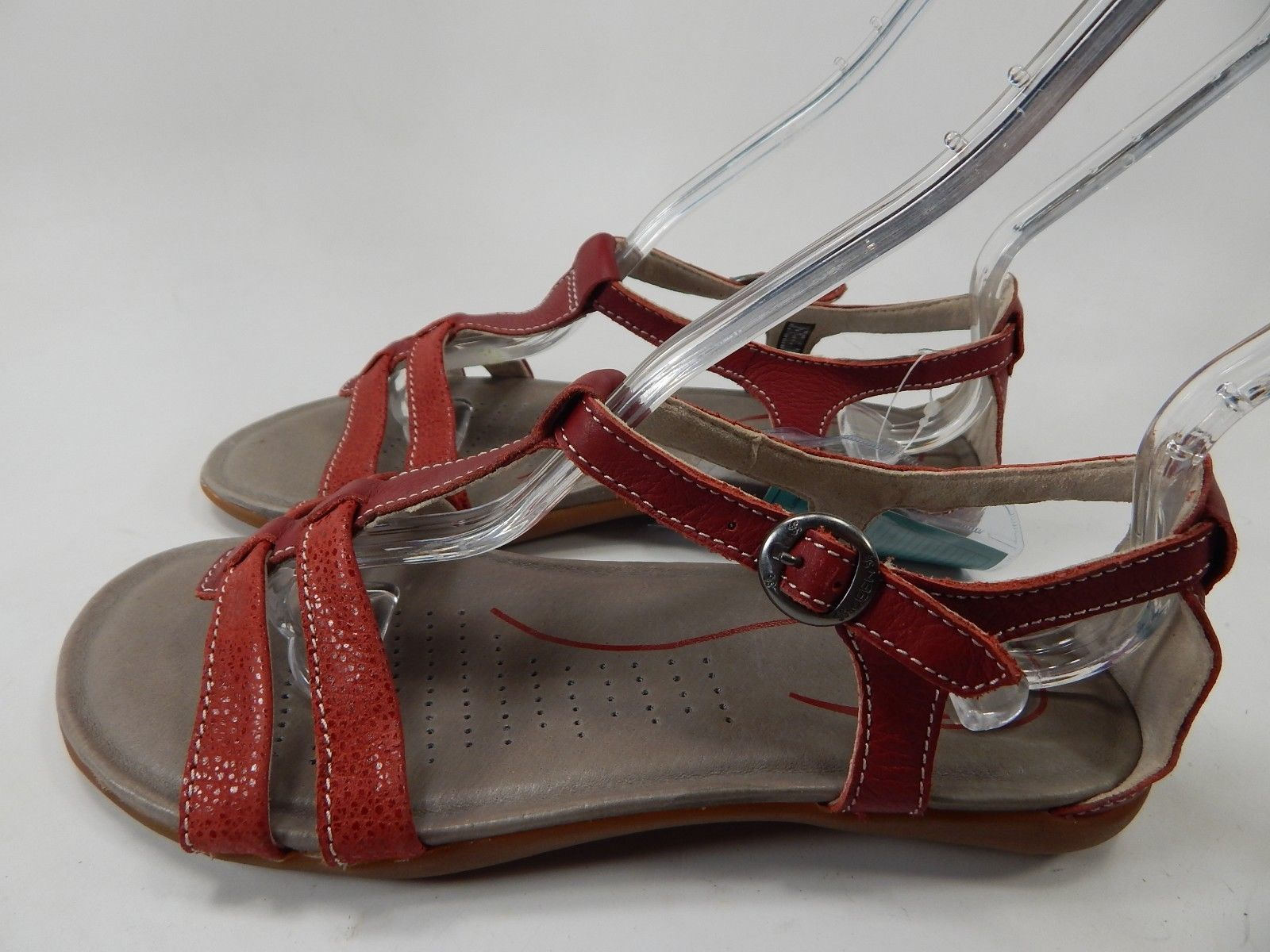 Keen Rose City T Strap Women's Sport Sandals Size 7 M EU 37.5 Red Dhalia