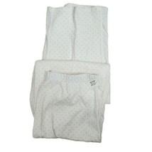 Charter Club Womens White with Pink Polka-dot Size Medium Pajama Bottoms... - $14.01