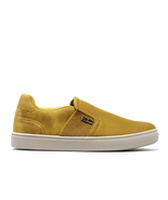 Men's Lightweight Breathable Cotton Casual Sneakers Walking Shoe, Yellow - $34.75