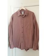 JCrew Men Shirt 100% Cotton Long Sleeve Large Size - $8.46