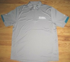 Reebok Jacksonville Jaguars Coaches Polo Shirt Xxl 2XL Jags Football Nfl New - $33.65
