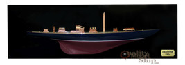 Endeavour Half-hull Sailing Boat Model Wall Picture - $193.05