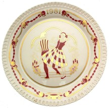 Spode Christmas plate for 1981 - Make we merry - CP1079 - $30.49