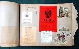 1919 antique MARIAN LUCILE BACH Scrapbook phila pa Carnegie Institute pi... - $124.95