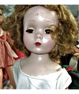 Toni Vintage Walker Doll 1950s Brunette - $24.90