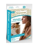 Shimmer Metallic Jewelry Tattoos As Seen On TV [New] - $6.98