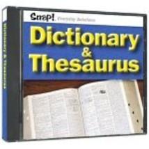 Snap! Dictionary & Thesaurus (Jewel Case) - $4.99