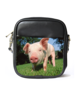 Sb2619 sling bag leather shoulder bag pig cute f thumbtall