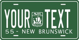 New Brunswick 1955 Tag License Plate Personalized Auto Bike Motorcycle Moped - $10.99+