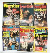 Lot of 6 Vintage The Wrestler Magazines 1999 Hulk Hogan Shawn Michaels R... - $24.74