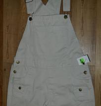 NEW Womens Classic ZANA DI Brand Khaki Overalls size Medium / 32-34x33 - $27.07