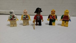 Classic LEGO Pirates Theme Mini Figures 1990s Nice Shape - $15.20