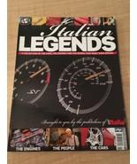 Italian Legends Issue No. 1 Collection Of Cars, Auto Italia Automotive M... - $58.29