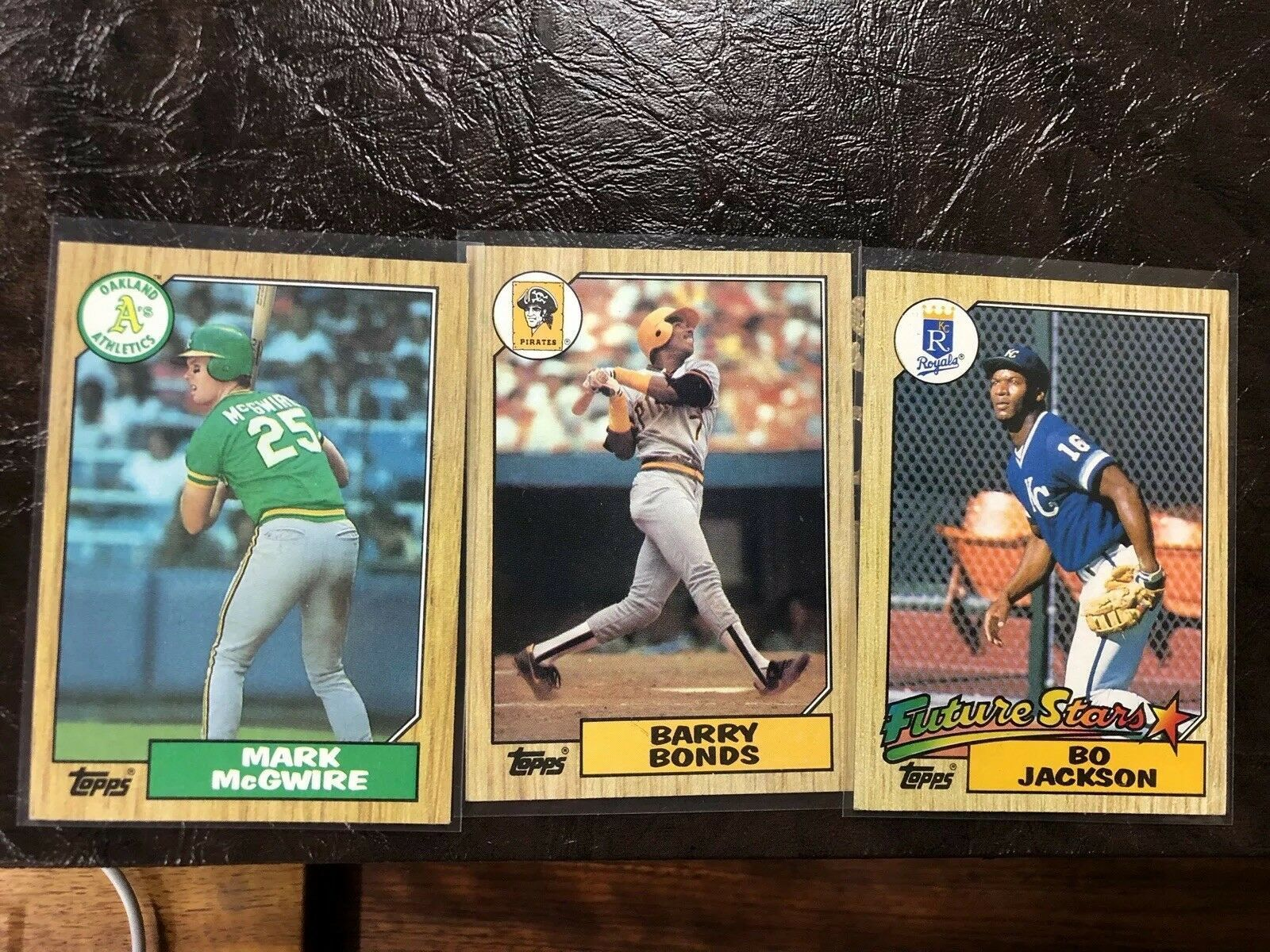 1987 Topps Baseball Complete Set In Binder 792 Cards Bonds Jackson Clark Rc