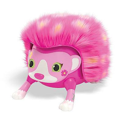 Zoomer Hedgiez Whirl Interactive Hedgehog With Comb Really Rolls NEW