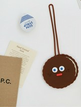 Brunch Brother Suitcase Luggage Tag Baggage Travel Bag Tag (Chocolate Cookie) image 2